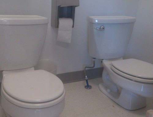 2 Small toilets installed for Daycare